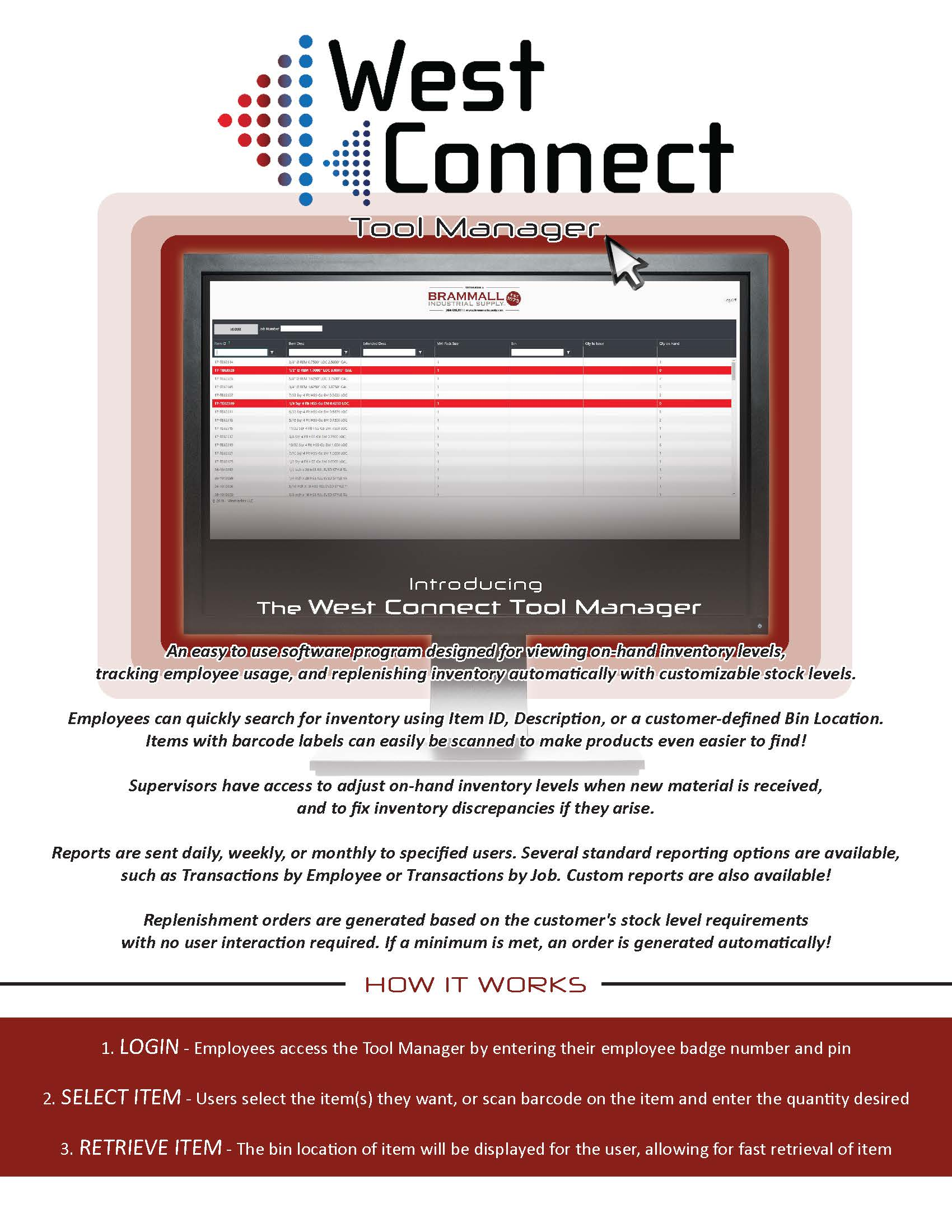 West Connect Tool Manager